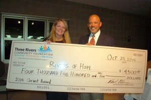 Rivers of Hope Grant 2014